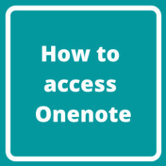 How to access Onenote-3